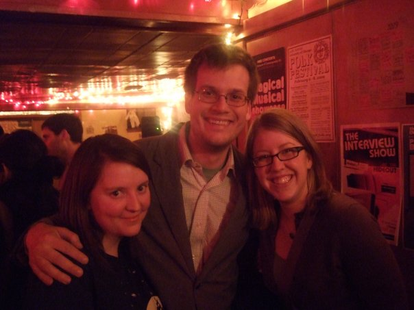 Us with John Green, author of the fabulous and wildly popular Looking for Alaska, An Abundance of Katherines, and Paper Towns